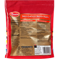 Tyson® Fully Cooked Portion Spicy Chicken Breast Fillets 25 oz. Bag