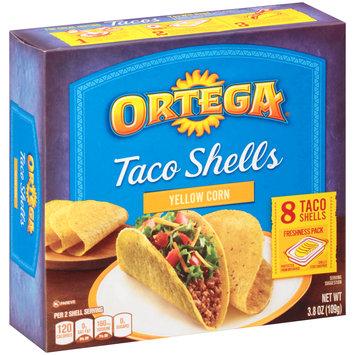 Ortega® Yellow Corn Taco Shells 3.8 oz. Box