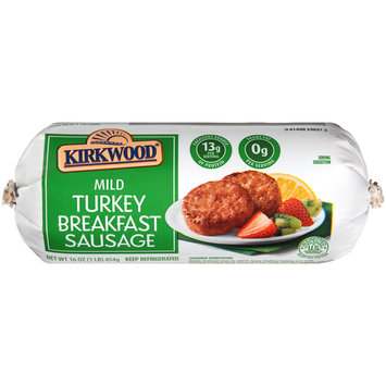 Kirkwood® Mild Turkey Breakfast Sausage 16 oz. Chub