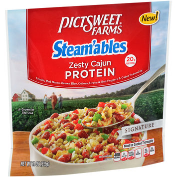 pictsweet farms® steam'ables® signature zesty cajun protein