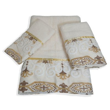 Popular Bath Products Savoy 3 Piece Towel Set