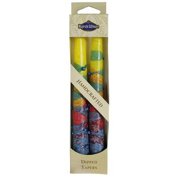 Jcommerce Judaica Sunrise Taper Candle Color: Yellow, Size: 7.5