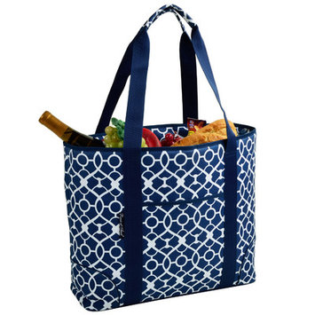 Freeport Park Extra Large Insulated Tote Color: Blue