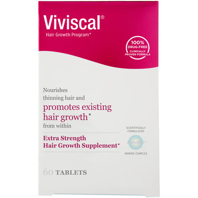 Viviscal Hair Growth Program Extra Strength Dietary Supplement, 60 count