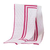 Harriet Bee Bertie Crib Quilt Color: Hot Pink