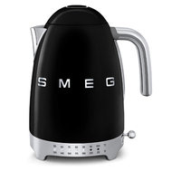 Smeg 50s Retro Style Aesthetic Black Variable Temperature Electric Kettle