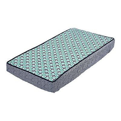 Bacati Noah Tribal Dot Cross Quilted Changing Pad Cover
