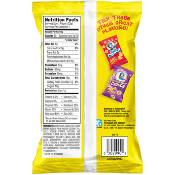 Cap'n Crunch's Crunch Berries® Crispy Corn & Oat On The Go Snack
