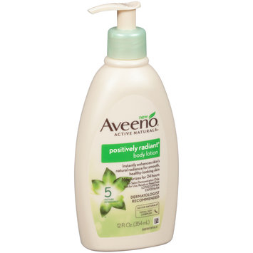Aveeno® Active Naturals® Positively Radiant® Body Lotion 12 fl. oz. Pump