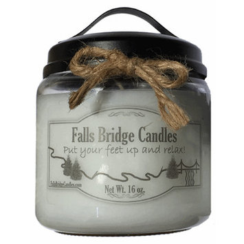 Fallsbridgecandles Green Tea and Cucumber Jar Candle Size: 5.25
