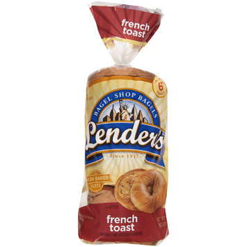 Lender's® French Toast Bagels 17.1 oz. Bag
