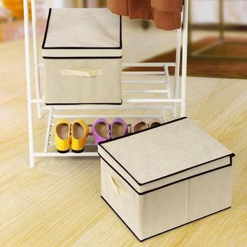 Rebrilliant Large Foldable Storage with Lid Box