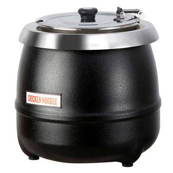Atosa 10.5 Qt Stainless Steel Electric Soup Kettle