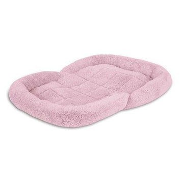 Petmate Puppy Bolster Dog Bed Color: Pink