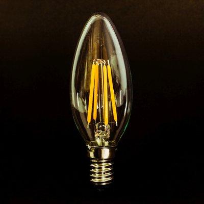 Tala E12/Candelabra LED Vintage Filament Light Bulb Wattage: 4
