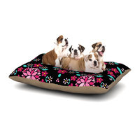 East Urban Home Anneline Sophia 'Dahlia Mandala' Dog Pillow with Fleece Cozy Top Size: Small (40