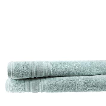 Melange Home Turkish Cotton Bath Towel Color: Celestial Blue