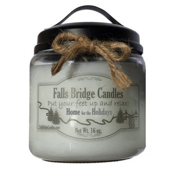 Fallsbridgecandles Home for the Holidays Scented Jar Candle Size: 5.25