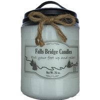 Fallsbridgecandles Sage and Citrus Scented Jar Candle Size: 6.5
