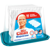 Mr. Clean® Magic Eraser Extra Durable Household Cleaning Pads 10 ct Plastic Container