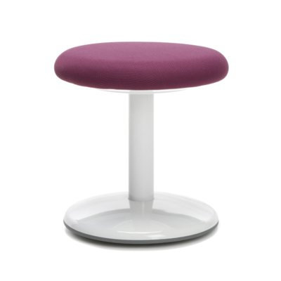 Ofm Orbit Lab Stool Upholstery: Purple Active