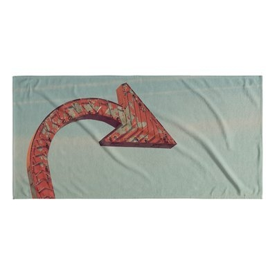 Kavka Over There Beach Towel