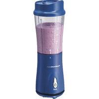 Hamilton Beach Personal Blender with Travel Lid, 14 oz capacity (Dark Blue)
