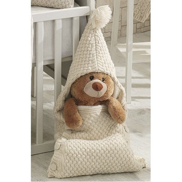 Nipperland Cozy Knitted Wool Blended Baby Sleep Wrap/Bag Color: Beige