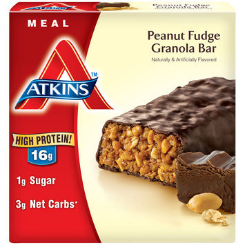 Atkins™ Peanut Fudge Granola Bar 5-1.7 oz. Bars