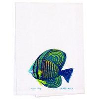 Betsy Drake Interiors Sailfin Tang Hand Towel