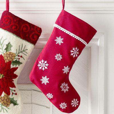 The Holiday Aisle Winter Wonderment Stocking