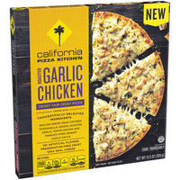 CALIFORNIA PIZZA KITCHEN Roasted Garlic Chicken Crispy Thin Crust Frozen Pizza 13.5oz