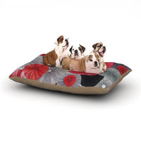 East Urban Home Heidi Jennings 'Kyoto' Dog Pillow with Fleece Cozy Top Size: Large (50