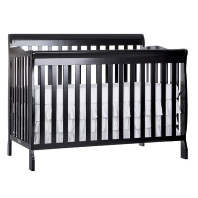 Dream On Me Ashton 5-in-1 Convertible Crib Finish: Navy
