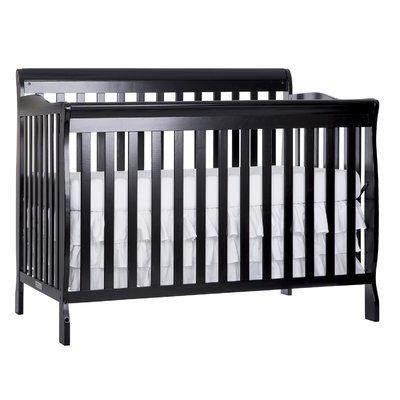 Dream On Me Ashton 5-in-1 Convertible Crib Finish: Navy