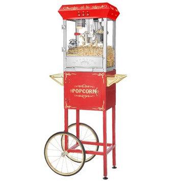 Superior Popcorn Company 0.25-Qt. Carnival Popcorn Popper Machine with Cart