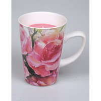 Jodhpuri Rose Bouquet Candle