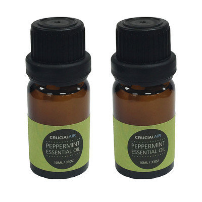 Crucial Air 2 Sweet Peppermint Infused Essential Oil for Aromatherapy, 10 ml