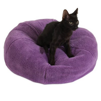 Jngy Dumpling Cat Bed Color: Purple