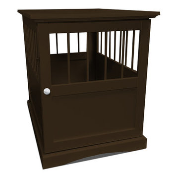 Furhaven Pet Products FurHaven Dog Crate Furniture End Table