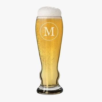 Alcott Hill Jacoby Single Initial Custom 11 oz. Beer Glass