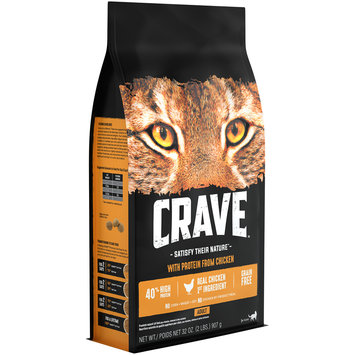 Crave™ with Protein from Chicken Cat Food 32 oz. Bag