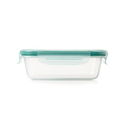 OXO 5.7 oz. SNAP Plastic Food Storage Container One Size Blue