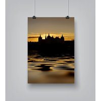 East Urban Home 'Moritzburg Castle Sundown' Photographic Print Size: 10