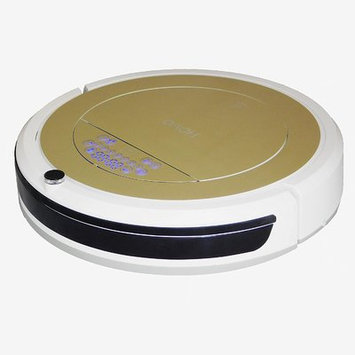 Infinuvo Bagless Robotic Vacuum with Anti-Allergy UV and HEPA Filter Color: Gold