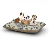 East Urban Home DLKG Design 'Imperial Palace' Dog Pillow with Fleece Cozy Top Size: Small (40