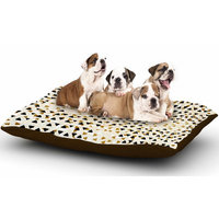 East Urban Home Pom Graphic Design 'Diamond Sky' Dog Pillow with Fleece Cozy Top