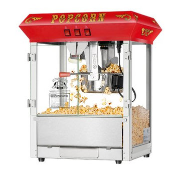 Superior Popcorn Company 0.25-Qt. Hot and Fresh Countertop Popcorn Popper Machine Color: Red