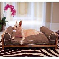 Pet Lounge Studios Daybed Cushion Dog Sofa Color: Kiwi Green