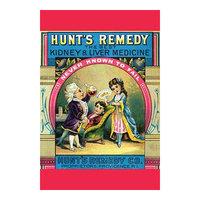 Buyenlarge 'Hunt's Remedy Kidney & Liver Medicine' Vintage Advertisement Size: 66